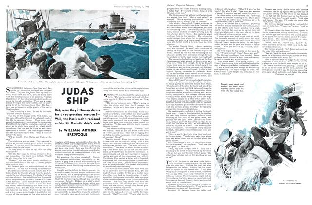 Article Preview: JUDAS SHIP, October 1943 | Maclean's