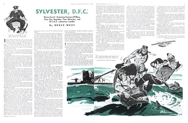 Article Preview: SYLVESTER, D.F.C., October 1943 | Maclean's