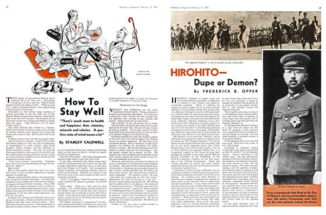 Article Preview: HIROHITO— Dupe or Demon?, February 1943 | Maclean's