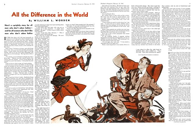 Article Preview: All the Difference in the World, February 1943 | Maclean's