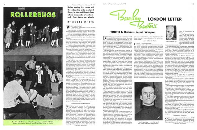 Article Preview: ROLLERBUGS, February 1943 | Maclean's