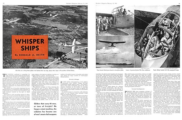 Article Preview: WHISPER SHIPS, February 1943 | Maclean's