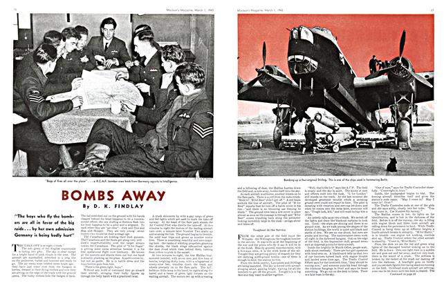 Article Preview: BOMBS AWAY, March 1943 | Maclean's