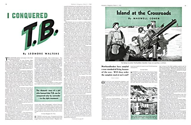 Article Preview: I CONQUERED T.B., March 1943 | Maclean's