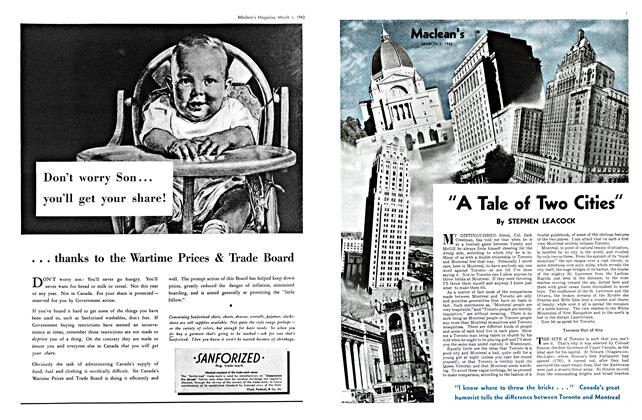 "Article Preview: ""A Tale of Two Cities"", March 1943 