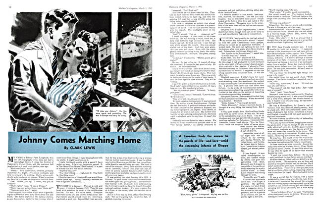 Article Preview: Johnny Comes Marching Home, March 1943 | Maclean's