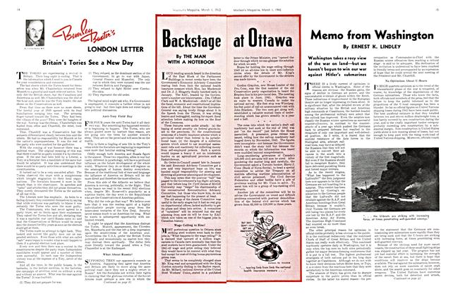 Article Preview: Memo from Washington, March 1943 | Maclean's