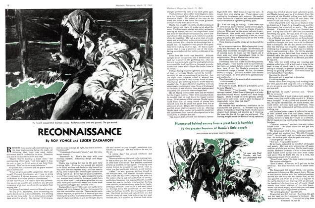 Article Preview: RECONNAISSANCE, March 1943 | Maclean's