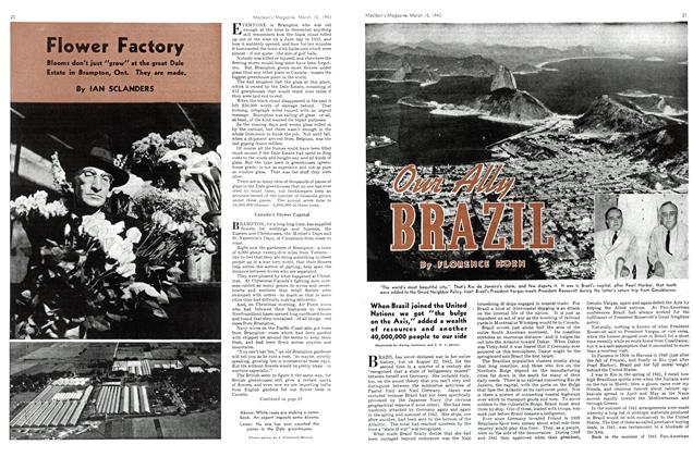 Article Preview: Our Ally BRAZIL, March 1943 | Maclean's