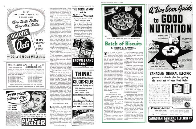 Article Preview: Batch of Biscuits, March 1943 | Maclean's