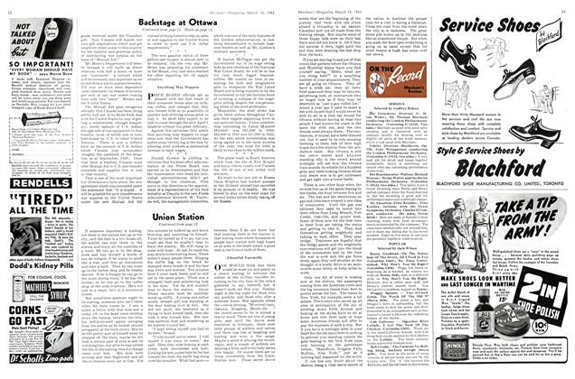 Article Preview: ON THE Record Maclean's Review, March 1943   Maclean's
