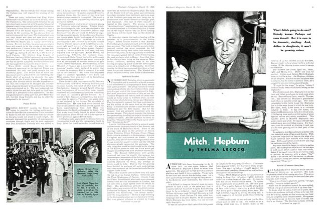 Article Preview: Mitch Hepburn, March 1943 | Maclean's