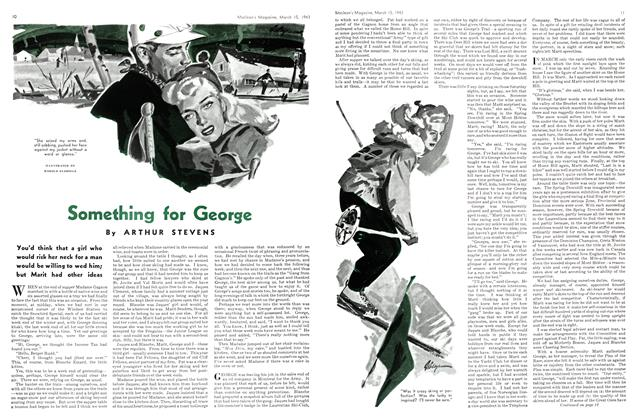 Article Preview: Something for George, March 1943 | Maclean's