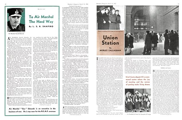 Article Preview: Union Station, March 1943 | Maclean's