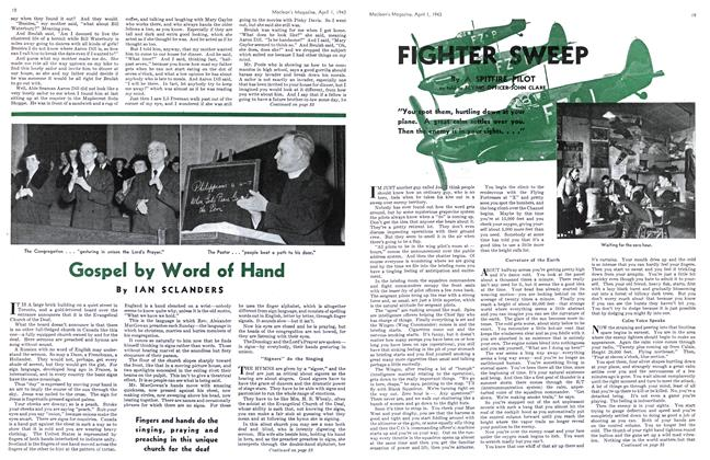 Article Preview: FIGHTER SWEEP, April 1943 | Maclean's