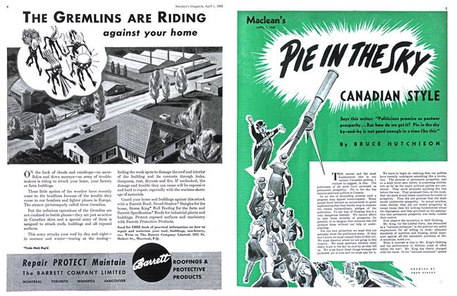 Article Preview: PIE IN THE SKY, April 1943 | Maclean's