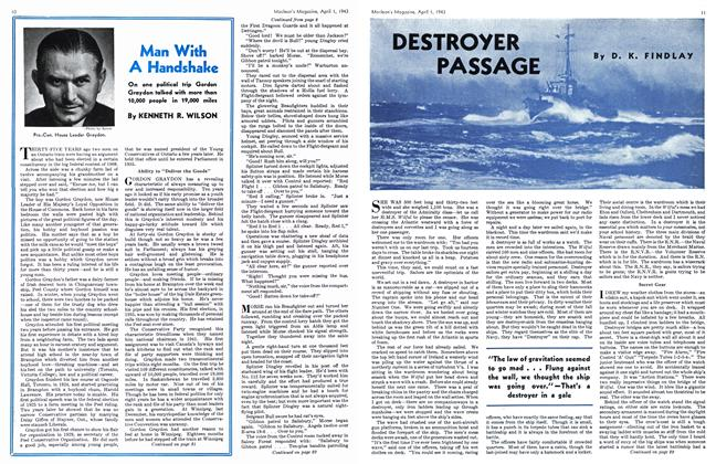 Article Preview: DESTROYER PASSAGE, April 1943 | Maclean's