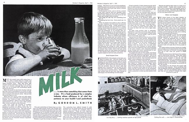 Article Preview: MILK, April 1943 | Maclean's