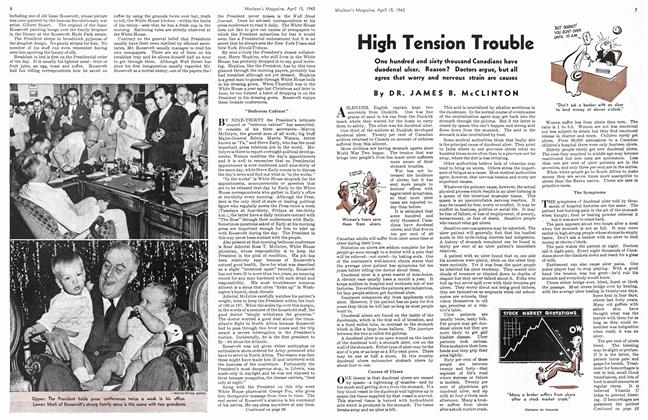 Article Preview: High Tension Trouble, April 1943 | Maclean's