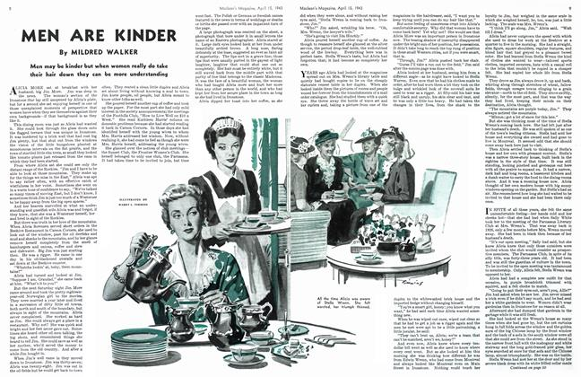 Article Preview: MEN ARE KINDER, April 1943 | Maclean's