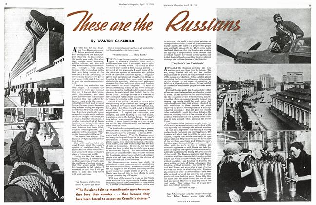 Article Preview: These are the Russians, April 1943   Maclean's