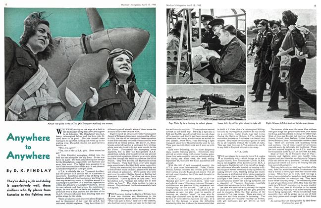 Article Preview: Anywhere to Anywhere, April 1943 | Maclean's