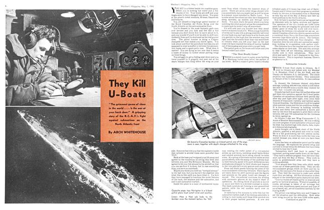 Article Preview: They Kill U-Boats, May 1943 | Maclean's