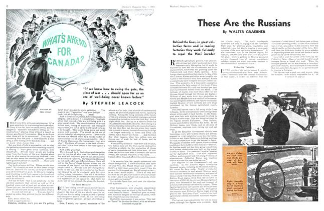 Article Preview: These Are the Russians, May 1943 | Maclean's