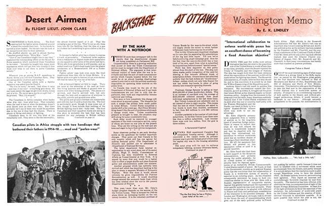 Article Preview: Washington Memo, May 1943 | Maclean's