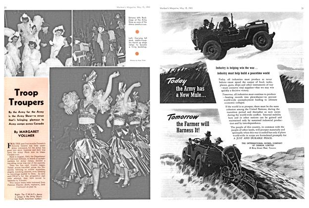Article Preview: Troop Troupers, May 1943 | Maclean's