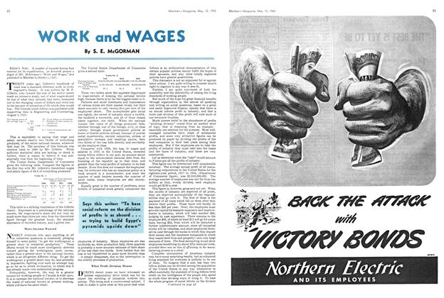 Article Preview: WORK and WAGES, May 1943 | Maclean's
