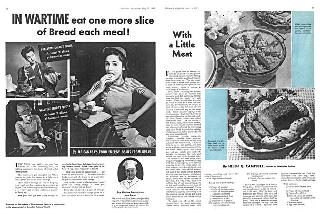 Article Preview: With a Little Meat, May 1943 | Maclean's