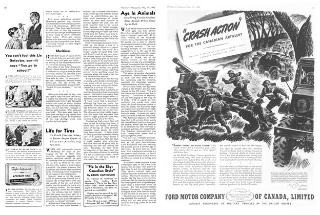 Article Preview: Life for Tires, May 1943 | Maclean's