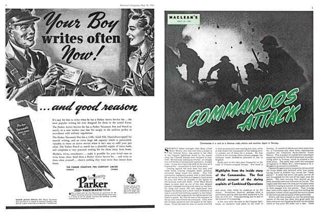 Article Preview: COMMANDOS ATTACK, May 1943 | Maclean's