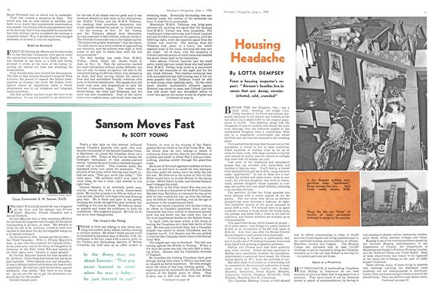 Article Preview: Sansom Moves Fast, June 1943 | Maclean's