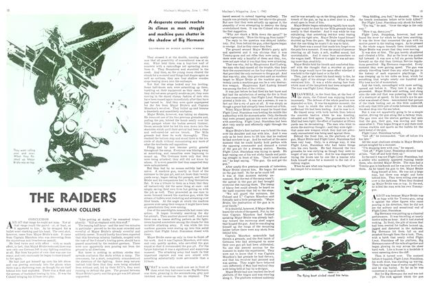 Article Preview: THE RAIDERS, June 1943 | Maclean's