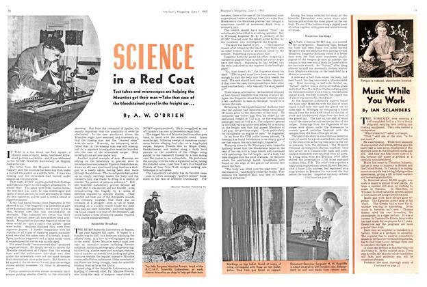 Article Preview: SCIENCE in a Red Coat, June 1943 | Maclean's