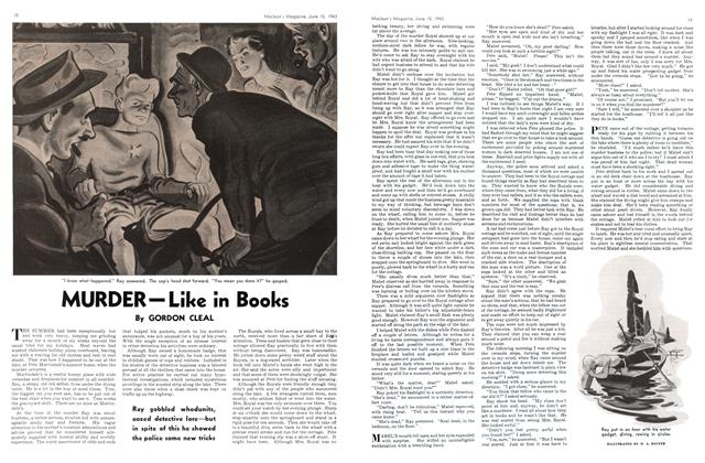 Article Preview: MURDER-Like in Books, June 1943 | Maclean's