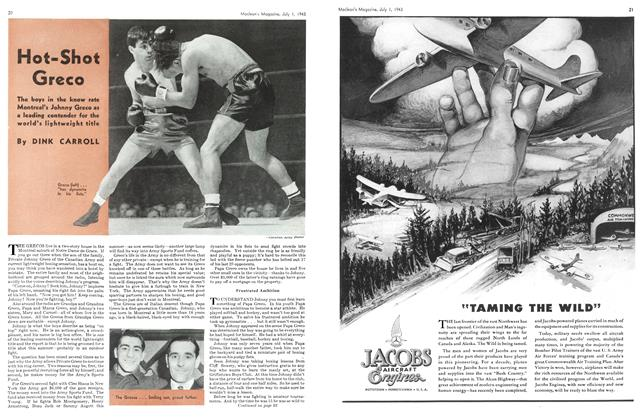 Article Preview: Hot-Shot Greco, July 1943 | Maclean's