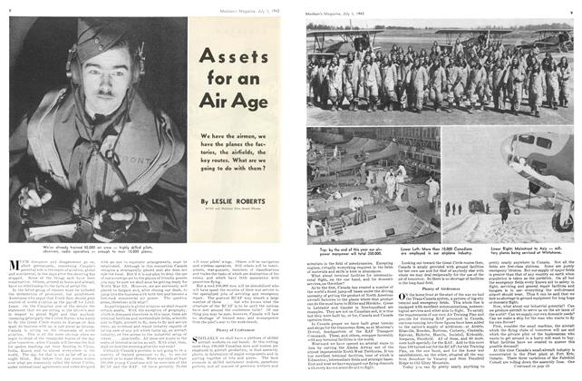 Article Preview: Assets for an Air Age, July 1943 | Maclean's