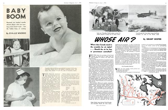 Article Preview: BABY BOOM, July 1943 | Maclean's