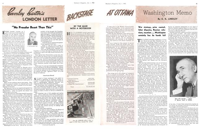 Article Preview: Washington Memo, July 1943 | Maclean's