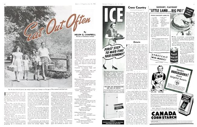 Article Preview: Eat Out Often, July 1943 | Maclean's