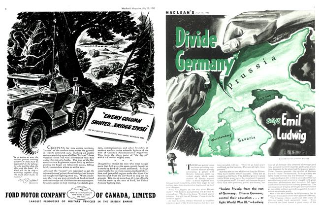 Article Preview: Divide Germany, July 1943 | Maclean's