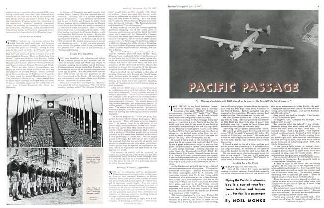 Article Preview: PACIFIC PASSAGE, July 1943 | Maclean's