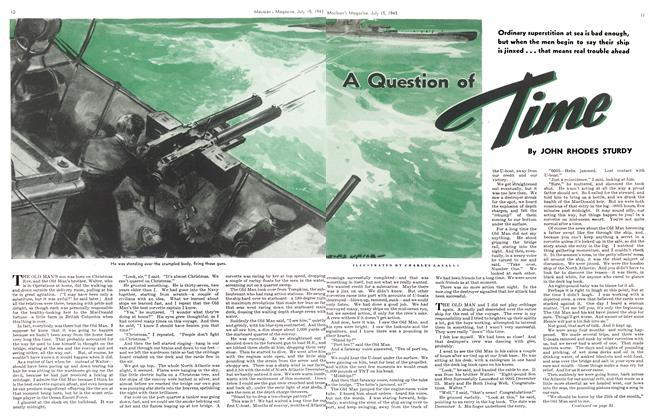 Article Preview: A Question of Time, July 1943 | Maclean's