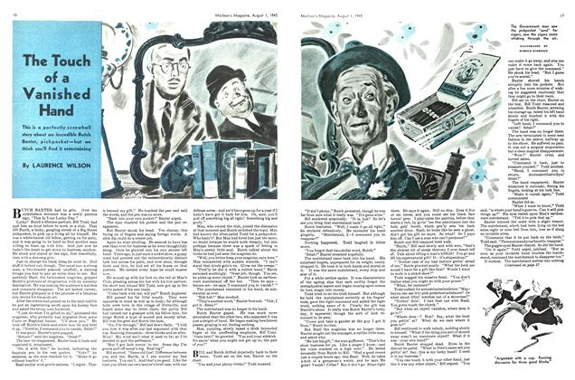 Article Preview: The Touch of a Vanished Hand, August 1943 | Maclean's