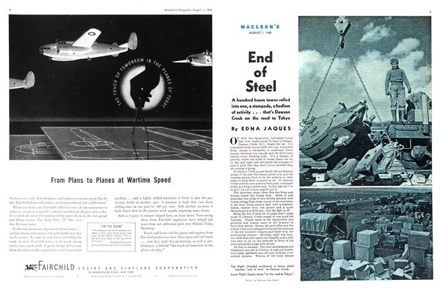 Article Preview: End of Steel, August 1943 | Maclean's
