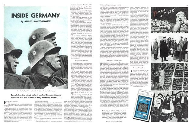 Article Preview: INSIDE GERMANY, August 1943 | Maclean's