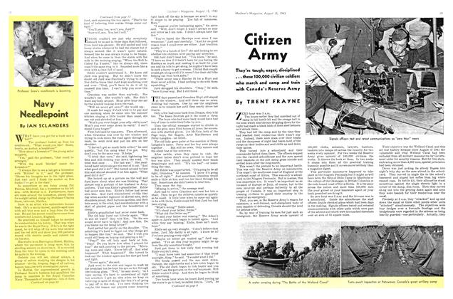 Article Preview: Citizen Army, August 1943 | Maclean's